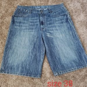 Ecko unlimited shorts size 38